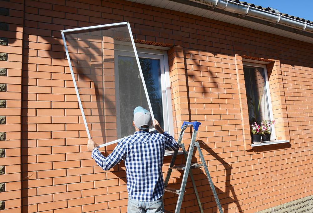 Mosquiteras para puertas y ventanas, y evita la entrada de polen, polvo y mosquitos